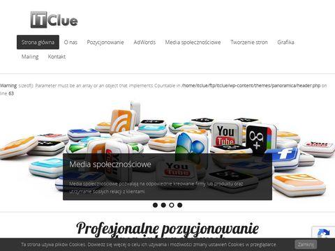 Itclue.pl tworzenie stron Gniezno