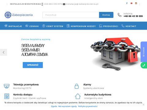 Izabezpieczenia.pl instalacja monitoringu