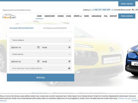 Ieurocar.pl wynajem aut