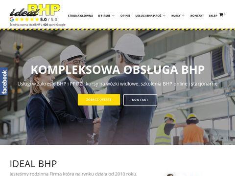 Idealbhp.pl uslugi