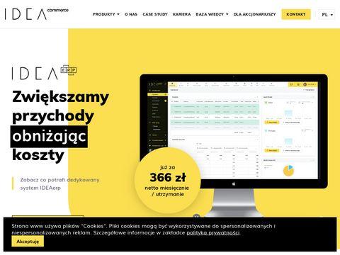 Ideaerp.pl - systemy dedykowane dla firm