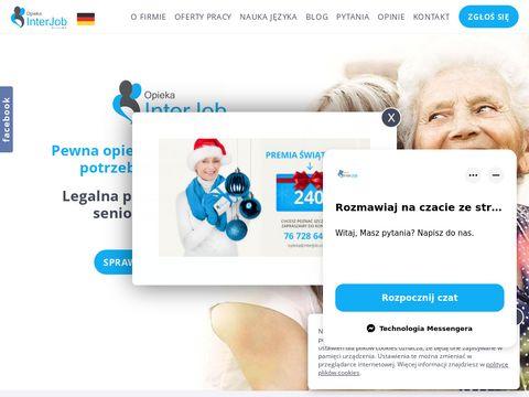 Interjob opieka nad osobami starszymi w Niemczech