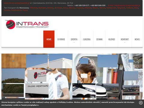 Intrans Przeprowadzki Marcin Cegielski