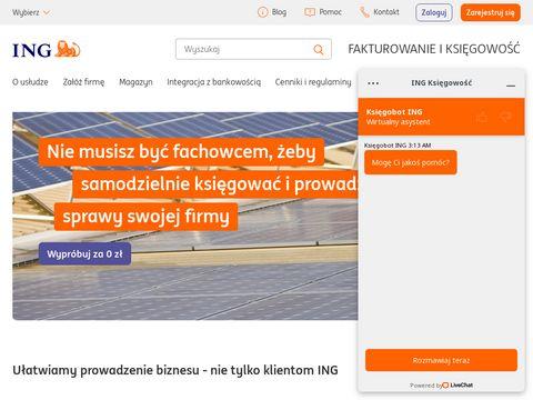 Pełna księgowość - ING Bank Śląski