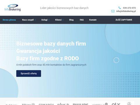 Infobrokering - twój partner w rozwoju biznesu