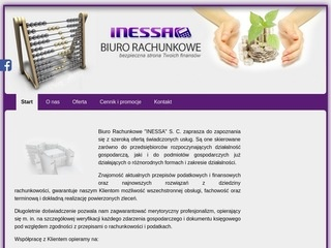 Inessa.waw.pl Biuro Rachunkowe księgowość dla każdego
