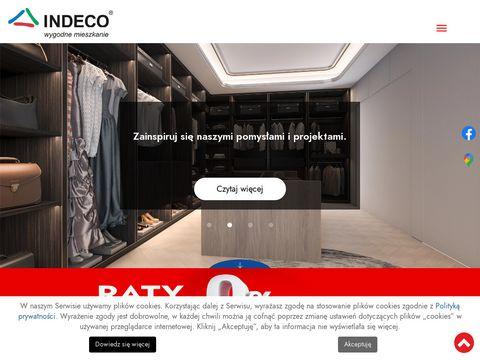 Indeco.bielsko.pl garderoby