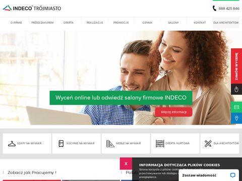 Indecotrojmiasto.pl szafy, kuchnie, zabudowy