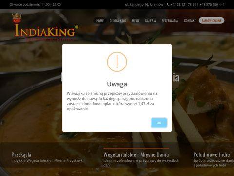 Indiaking.pl - restauracja