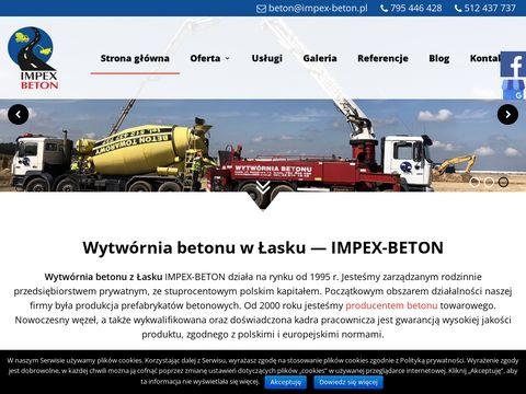 Impex-beton.pl wytwórnia