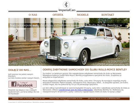 Imperialcars.pl zabytkowe samochody Rolls-Royce