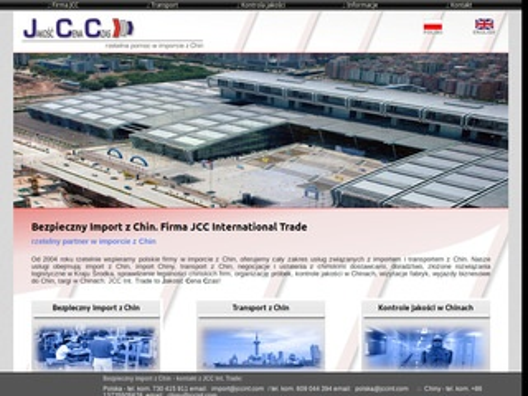 JCC Int. Trade - import z Chin kompleksowa obłsuga