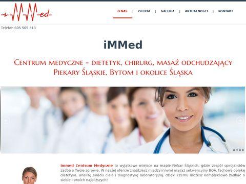 Immed - dietetyk piekary, chirurg