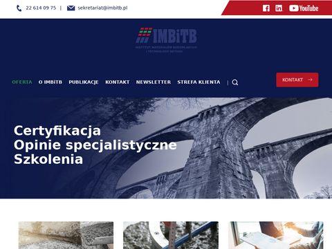 IMBiTB certyfikacja CE