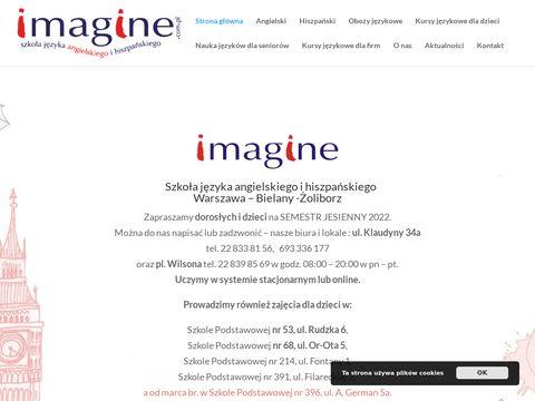 Imagine.com.pl - angielski dla firm