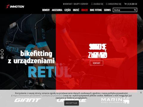 Im-motion.pl sklepy i serwisy rowerowe