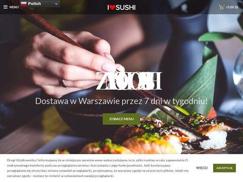 I Love Sushi Warszawa - Dostawa sushi na telefon