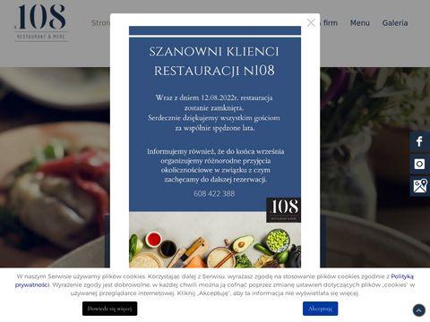 N108restaurant.pl