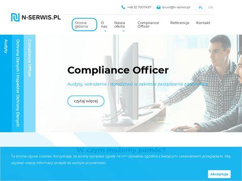 N-serwis.pl Wymagania GIODO