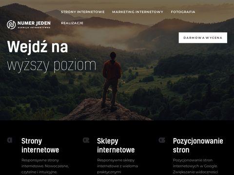 Numerjeden.com pozycjonowanie stron