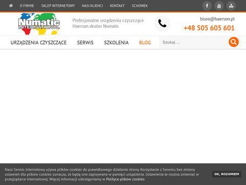 Numatic-haerson.pl - maszyna do mycia podłóg
