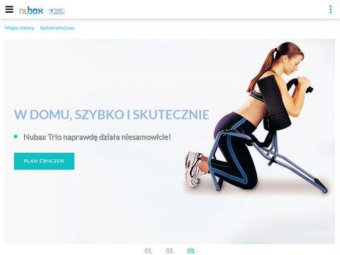 Nubax Sprzęt do ćwiczeń kręgosłupa