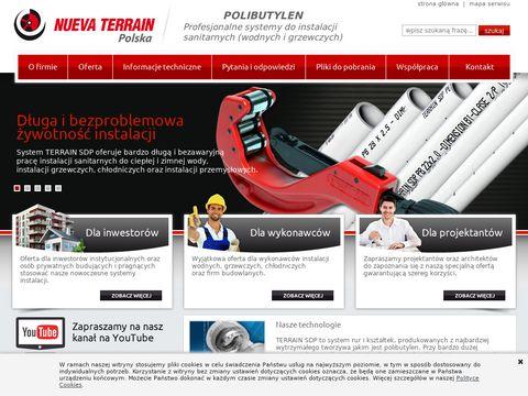 Nueva Terrain instalacje grzewcze