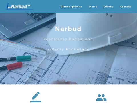 Narbud.pl - biuro kosztorysowe Nowy Sącz