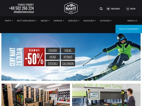 Nartywarszawa.pl - sprzęt narciarski
