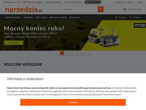 Narzedzia.pl sklep internetowy z narzędziami