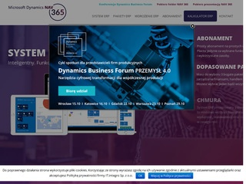 Nav365.pl system ERP w abonamencie