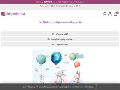 Naklejkolandia.pl - naklejki na ścianę
