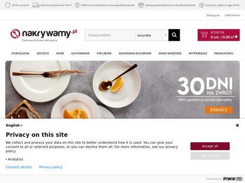 Nakrywamy.pl - zastawa stołowa