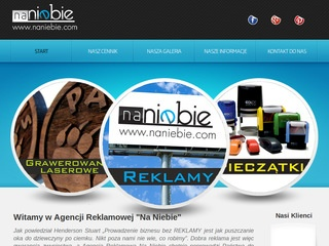 Naniebie.com gadżety reklamowe Nowy Sącz