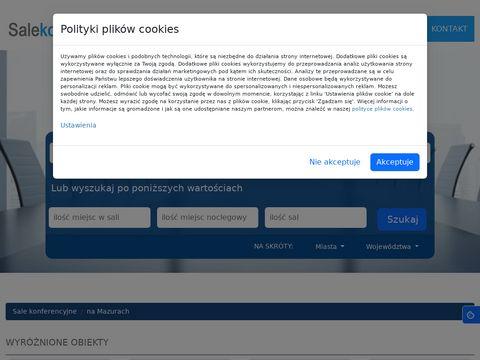 Namazurach.salekonferencyjne.pl