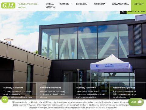 Namioty.katowice.pl reklamowe i handlowe