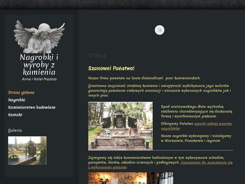 Nagrobkipredota.pl zakład kamieniarski mazowieckie