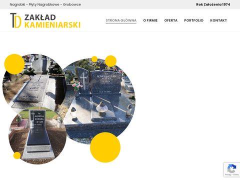 Nagrobki-lubon.pl zakład kamieniarski Domagała