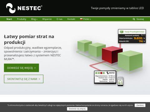 Nestec.pl - wyświetlacze led