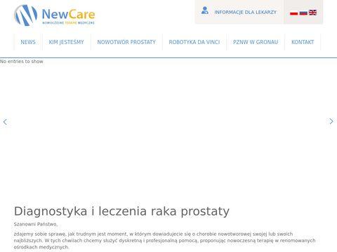 NewCare diagnostyka nowotworów