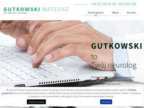 Neurolog-gutkowski.pl ból kręgosłupa Chojnice