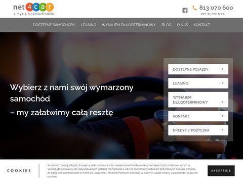 Najtańszy kredyt samochodowy net4car.pl