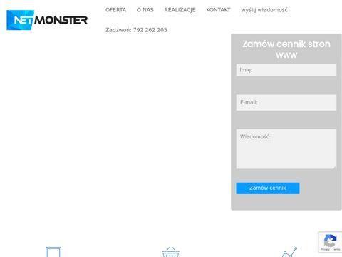 Netmonster.pl strony internetowe Poznań