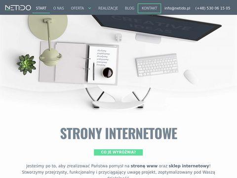 Netido.pl - strony internetowe Kraków