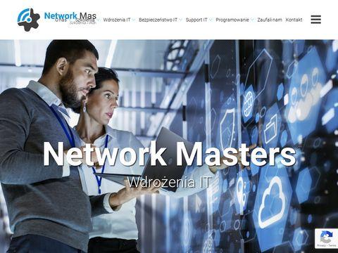 Network Masters - automatyzacja pracy, wdrożenia