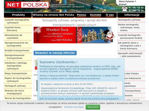 Netpolska.com czytniki tachografów cyfrowych
