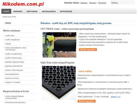 Nikodem.com.pl maty antystatyczne