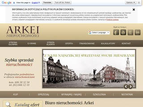 Arkei Nieruchomości - biuro nieruchomości Poznań