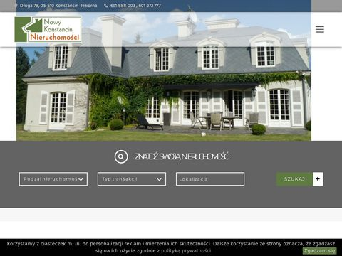 Nieruchomosci-konstancin.com oferty