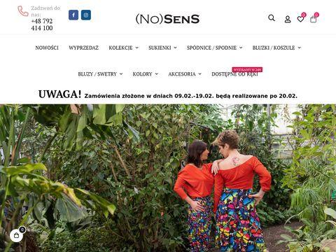 Nosens.pl ekskluzywne marki odzieżowe